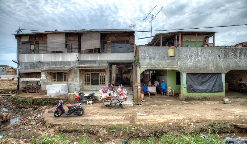 Kampungs in Jakarta, Indonesia