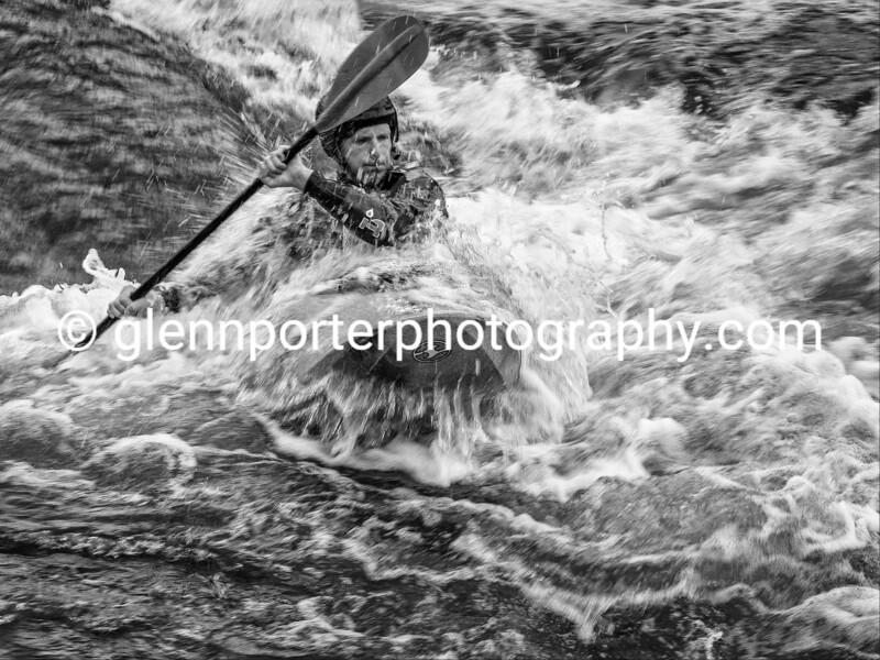 White water kayaking, at CIWW
