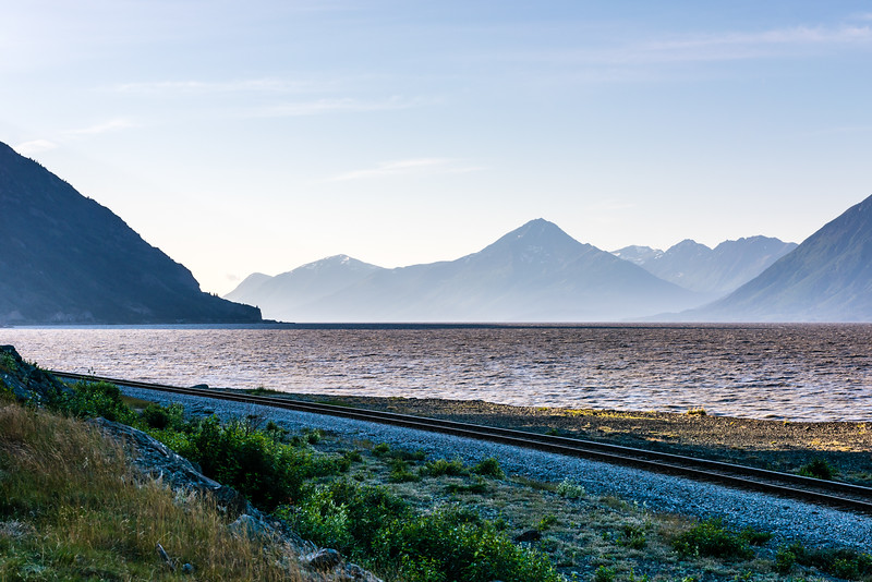 Hazy Morning on the Turnagain Arm