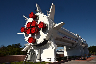 Saturn rocket (SA-209) - this was used on the Apollo missions and served as a backup launch vehicle during the manned Skylab missions