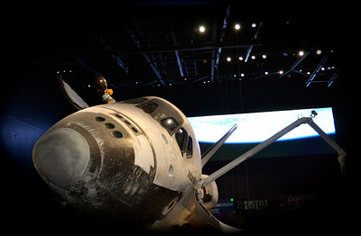 For each flight the Atlantis launched as a rocket, flew as a spacecraft and landed as a glider.