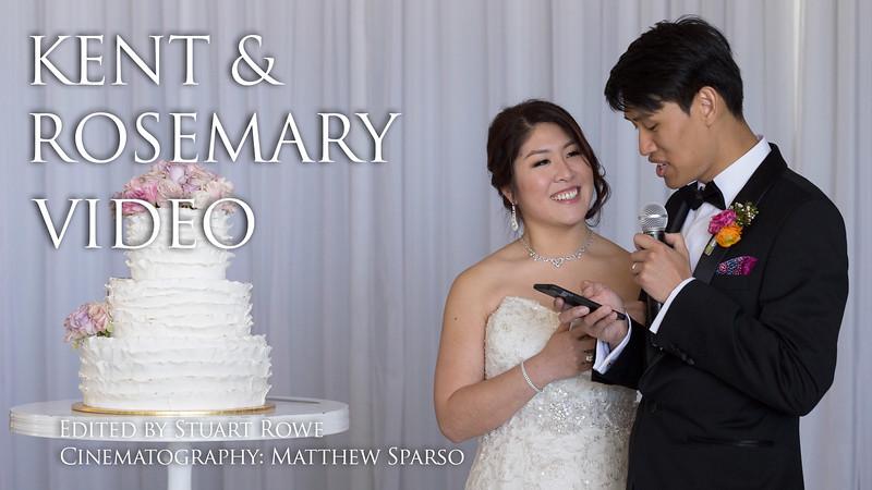 Kent & Rosemary Wedding Highlight