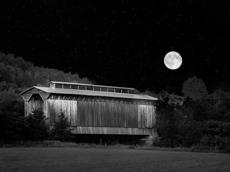 Moonrise, Fisher Bridge
