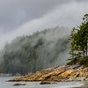 Fog Rising Over Tonquin Bay