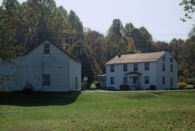 Barn and House