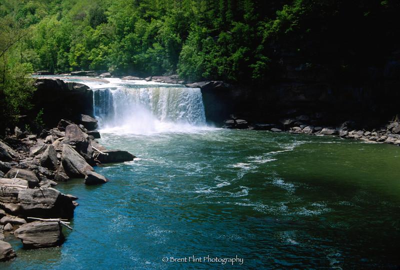 S.2987 - Cumberland Falls, Cumberland Falls State Resort Park, KY.