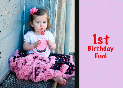 1st birthday fun 2