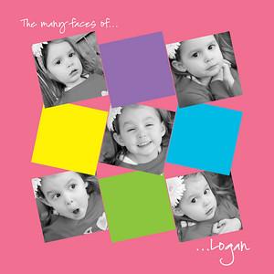Logan collage words