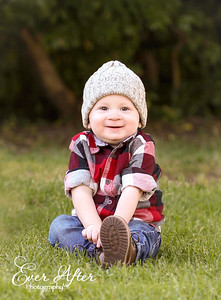 Lumberjack 1st Birthday Photoshoot