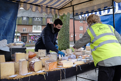 The Christmas season 2020 begins around The Green in Kings Norton on Saturday 12 December 2020. The Kings Norton Farmers' Market.