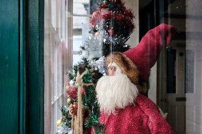 The Christmas season 2020 begins around The Green in Kings Norton on Saturday 12 December 2020. Saint Nicolas' Place.