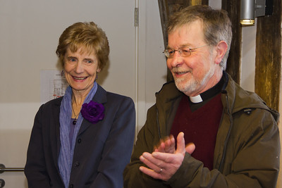 Veronica Chambers with Canon Rob Morris