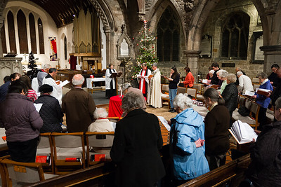 St Nicolas' Day - Visit of Bishop Andrew