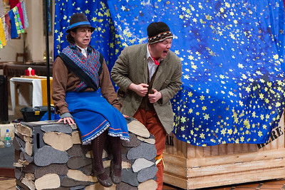 "The Riding Lights Theatre Company perform ""Give It Back, Mak"" on 22nd December 2012."