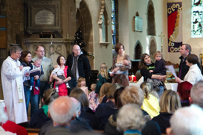 Advent 2 - Parade & Toy Service - Baptism Families Are Welcomed