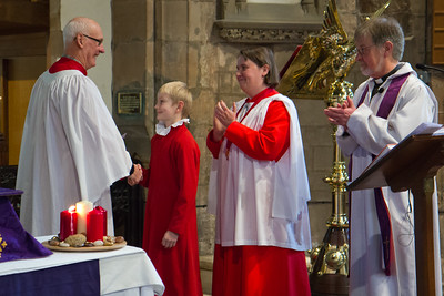 Advent 1 - 60 years a chorister