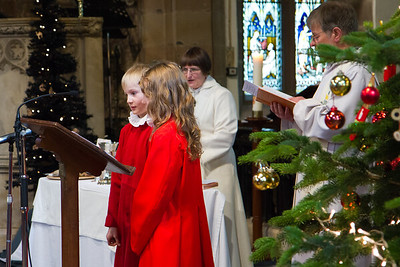 Advent 2 - Parade & Toy Service - Children Participate in the Eucharistic Prayer