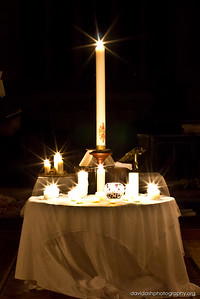 Easter Saturday, Service of Light, First Communion of Easter