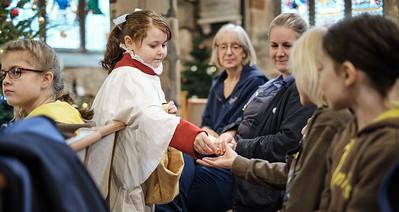 The annual patronal festival (St Nicolas' Day) at Saint Nicolas' Church, Kings Norton on Sunday 8 December 2019.