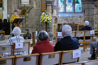 The Annual Parochial Church Meeting (APCM) held at Saint Nicolas' Church, Kings Norton on Sunday 11 October 2020. Pauline Weaver.