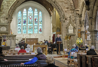 The Annual Parochial Church Meeting (APCM) held at Saint Nicolas' Church, Kings Norton on Sunday 11 October 2020.