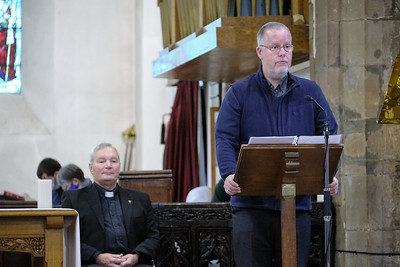 The Annual Parochial Church Meeting (APCM) held at Saint Nicolas' Church, Kings Norton on Sunday 11 October 2020.Simon Hill.