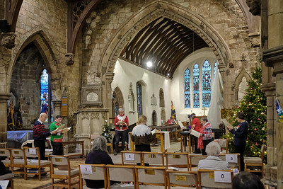 'Comfort and Joy', a celebration of Christmas at Saint Nicolas' Church, Kings Norton on Saturday 19 December 2020.
