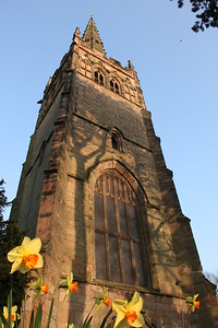 St Nicolas' Church in spring