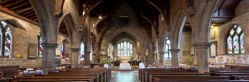 St Nicolas' Church interior