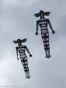 Two Feather Woman kites