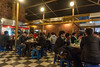 Young Koreans gather in a Gangnam district late-night eatery. (Gangnam-gu, Seoul, KR - 03/26/13, 12:22:09 AM)