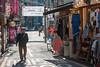 A man walks through an Insa-dong back-alley. (Jongno-gu, Seoul, KR - 03/27/13, 3:48:27 PM)