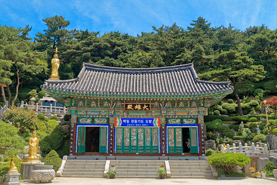 Buddhist Temple, Incheon, Korea (1)