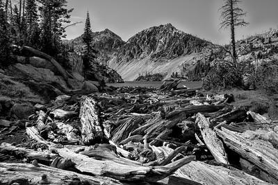 Iron Creek meets Sawtooth Lake | Sawtooth Mountains, Idaho