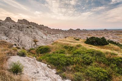 Badlands Peaks & Valleys