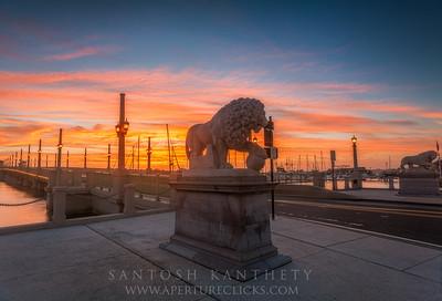 Roaring sunrise