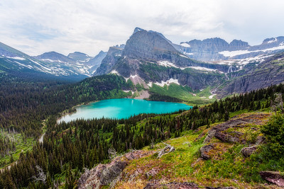 Turquoise Waters- Grinnell Lake