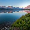 Saint Mary Lake Reflections