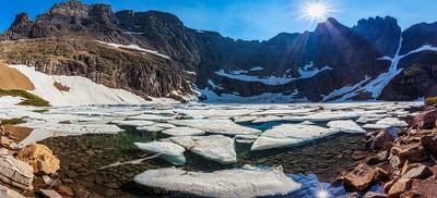 Iceberg Lake Panorama