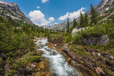 Casdade Canyon, Grand Teton National Park