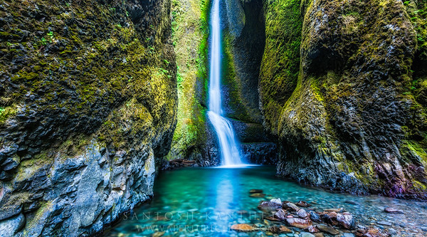 Oneonta Waterfall