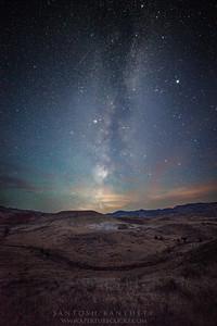Star studded sky