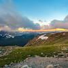 Alpine Sunset Glow