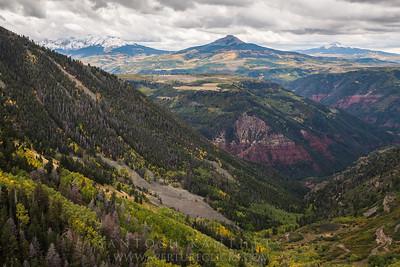 Peaks & Valleys, Million dollar Road, Sanjuan Mountains
