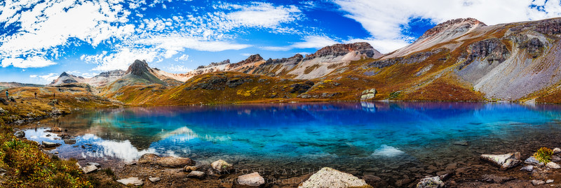Ice Lakes Panorama