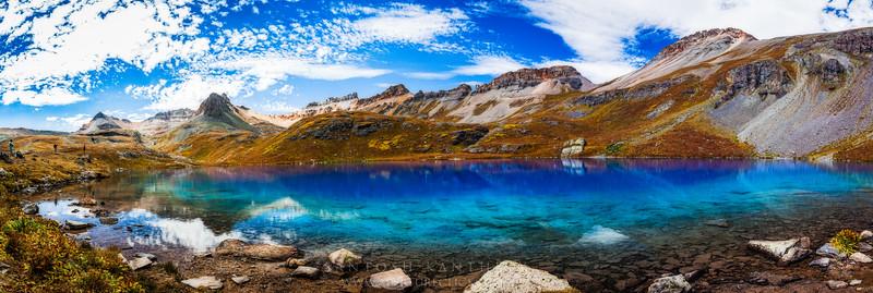 Ice Lakes Panorama