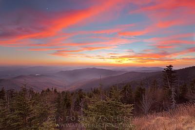 Fire & Smoke- Great Smoky Mountains