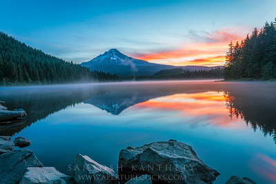 Steamy Sunrise