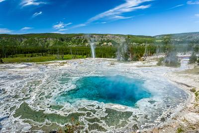 Sapphire Pool Eruption