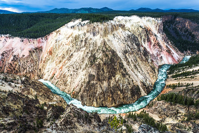 Grand Canyon of Yellowstone Lookout